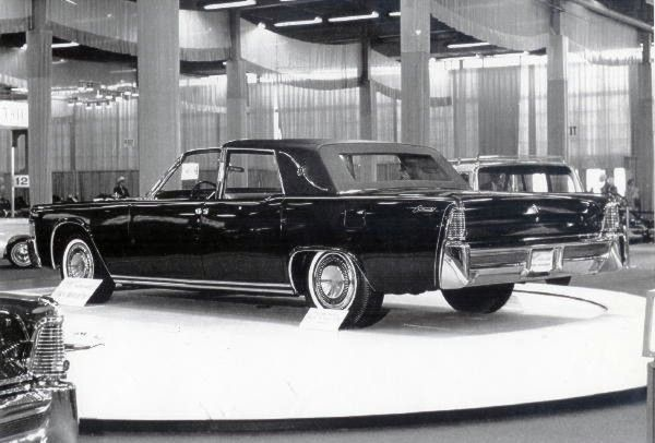 1964 Lincoln Continental Town Brougham Show Car Lincoln Continental Lincoln Lincoln Motor