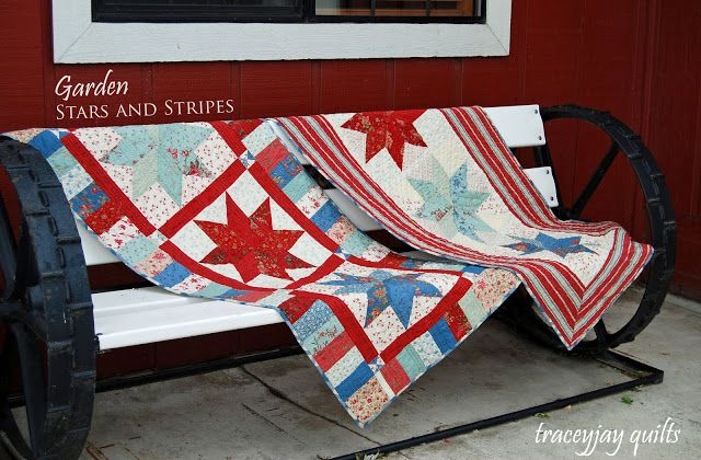 Garden Stars and Stripes « Moda Bake Shop
