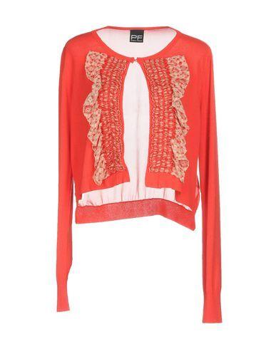 PF PAOLA FRANI Women's Cardigan Red 4 US