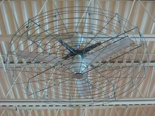 Ceiling Fan In A Cage Vintage Ceiling Fans Com Forums Caged Ceiling Fan Industrial Ceiling Fan Painting Ceiling Fans