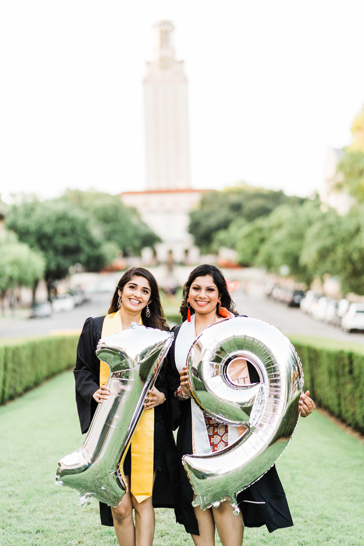Sweta & Nidhi UT Austin Tower Prop Inspiration