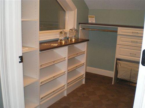 Walk In Closet, Idea House At Becker Furniture World, Becker, Mn