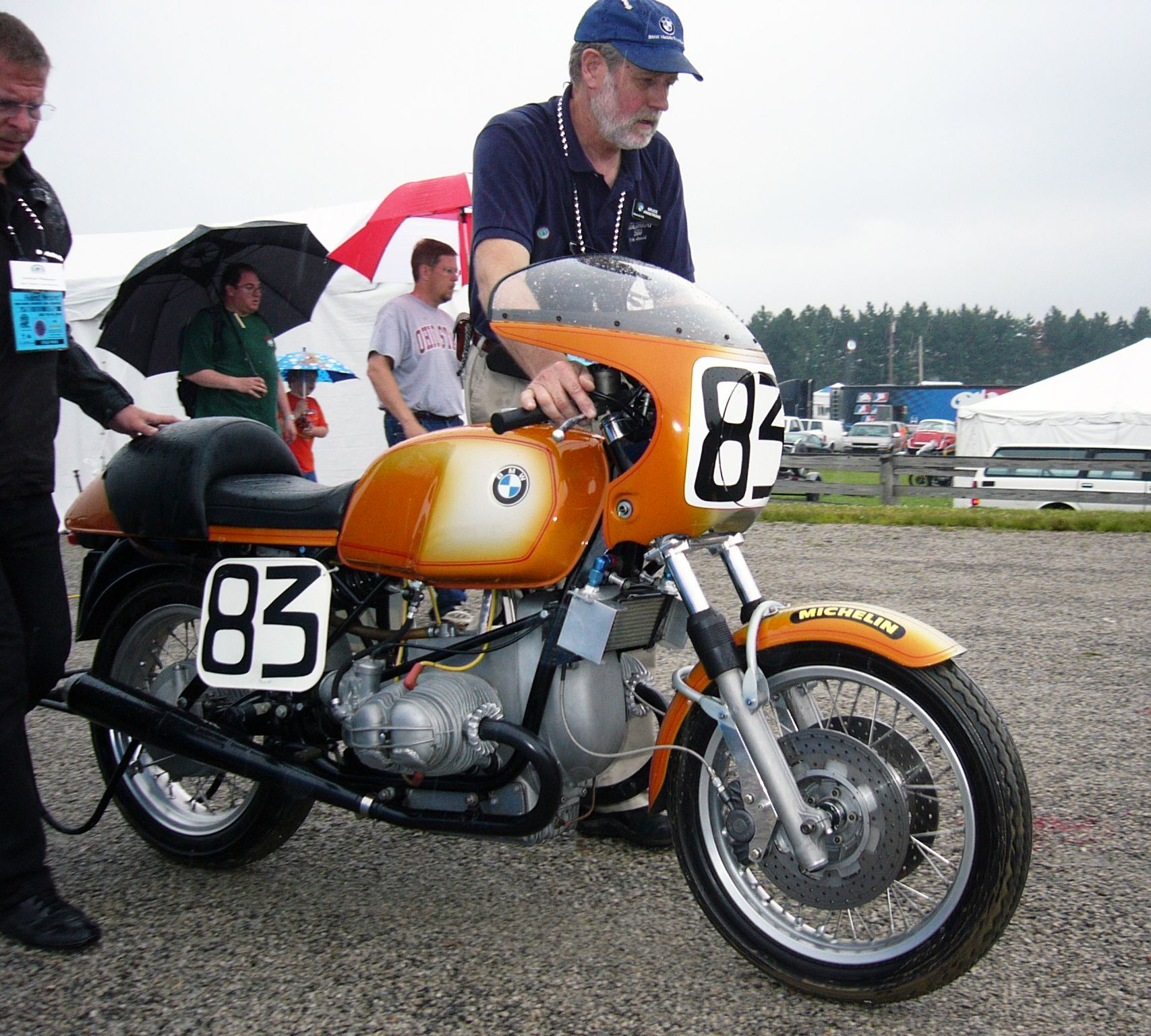 Steve McLaughlin's Winning #83 BMW R90S, Daytona '76. Then