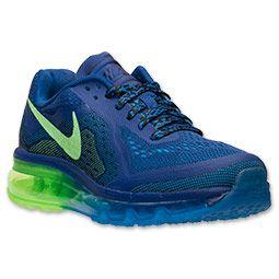 Boys' Grade School Nike Air Max 2014 Running Shoes | Finish