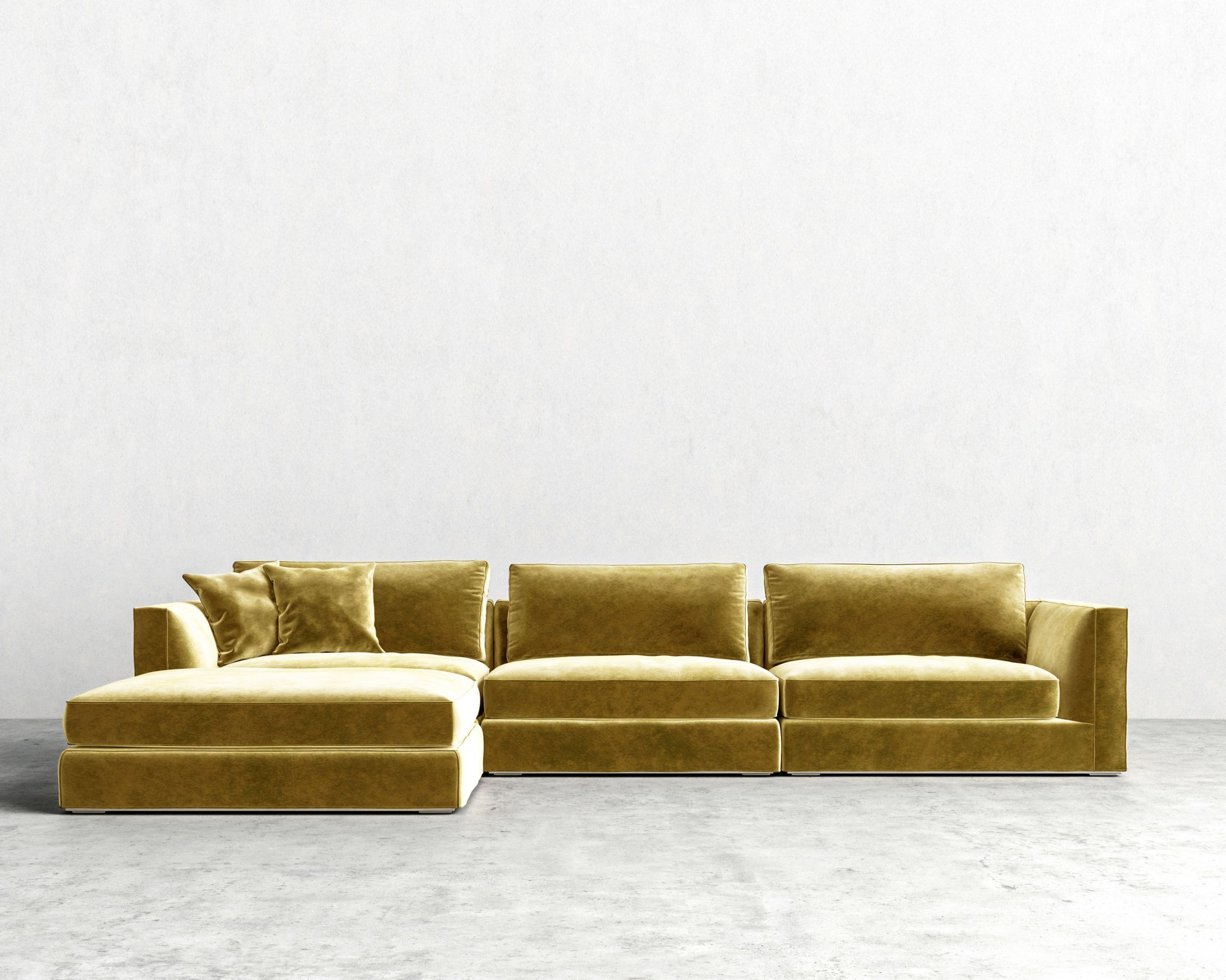 Milo Modular Sectional Rove Concepts Rove Concepts Mid Century