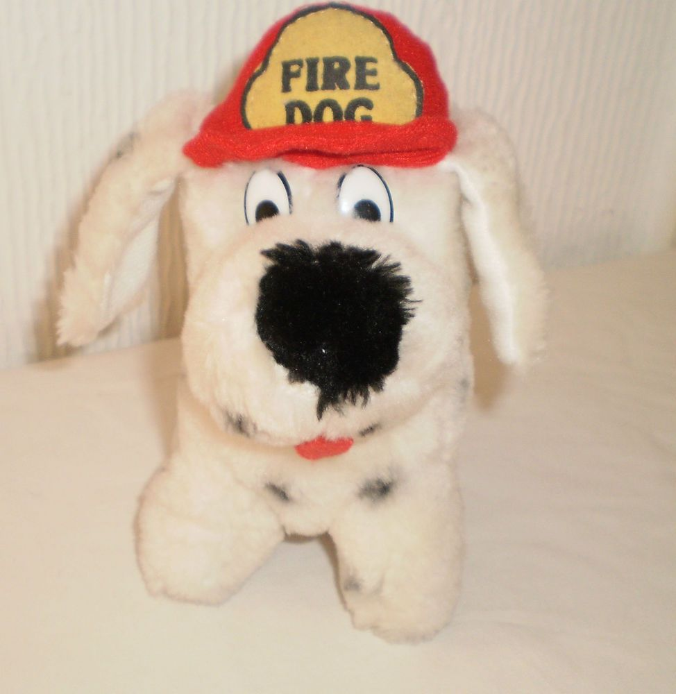 Playmakers Soft Toy Dalmatian Fire Dog Collectable Teddy Bears