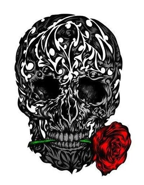 50 cool skull tattoos designs tattoo designs tattoo and. Black Bedroom Furniture Sets. Home Design Ideas