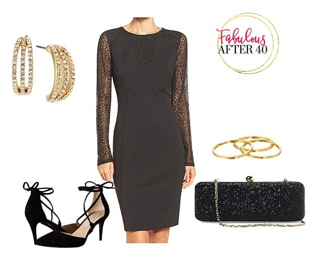 eb5f56afa30f How to accessorize a little black dress for the holidays | Fabulous After 40