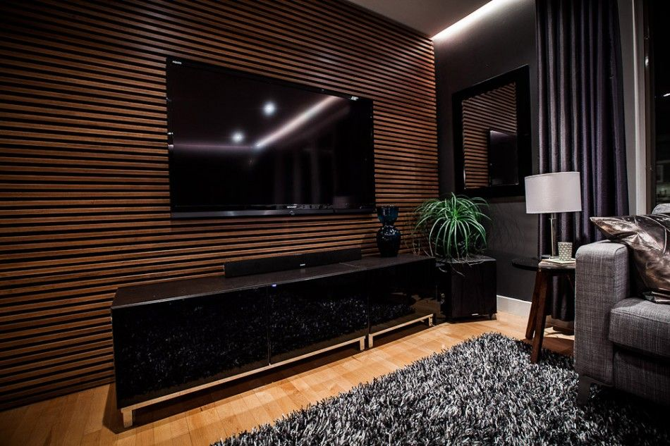 slat wall tv lumberliquidators 5thwall modern living on incredible tv wall design ideas for living room decor layouts of tv models id=23609