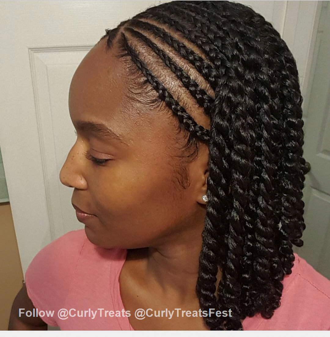 Long Hairstyles For Black Women Haircuts For Black Women With Natural Hair Quick Easy Na Natural Braided Hairstyles Natural Hair Twists Natural Hair Braids