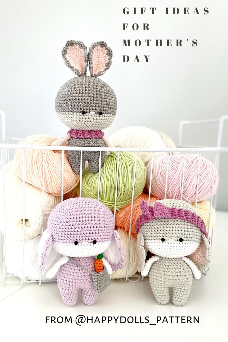 CROCHET PATTERN Bunny, Amigurumi Bunny, Little Crochet Bunny, Animal Pattern
