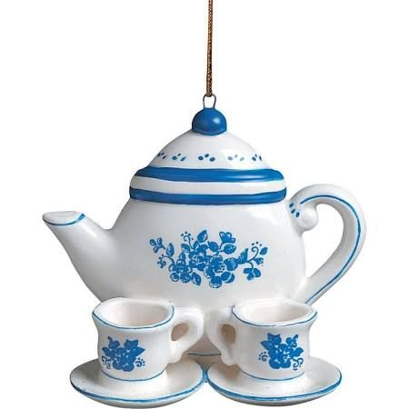 teacup ornaments christmas - Google Search
