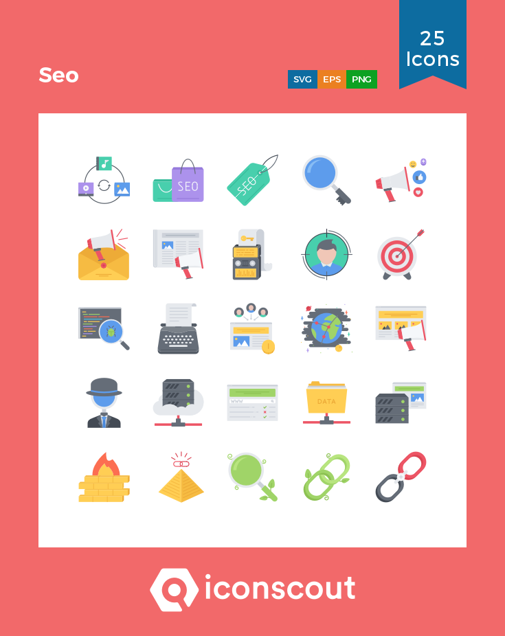 Download Seo Icon Pack Available In Svg Png Eps Ai Icon Fonts Icon Pack Icon