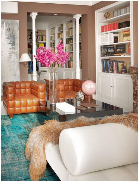 Interiors Living Room Inspiration Elle Decor Home