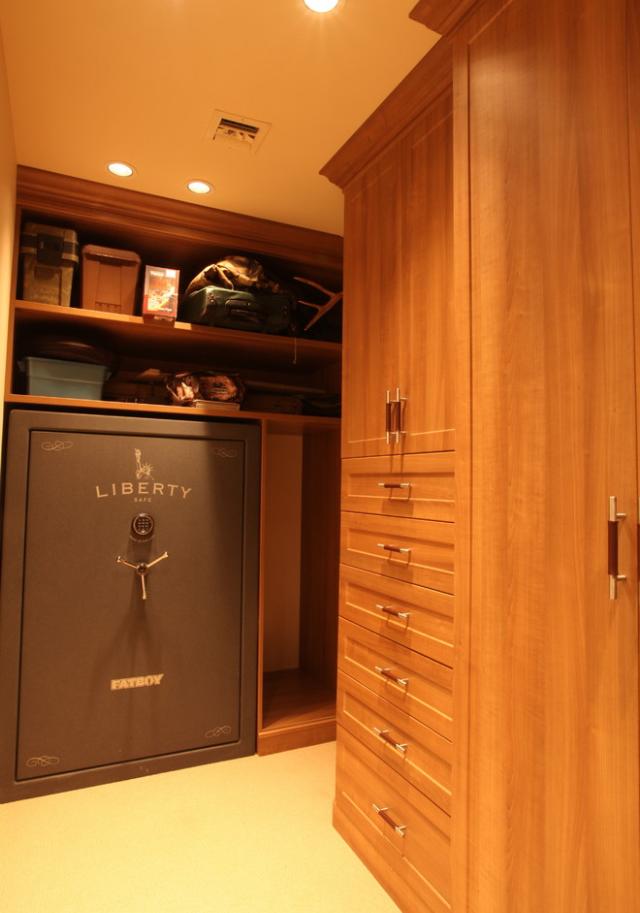 Safe In Master Closet Master Bedroom Closet Design Ideas