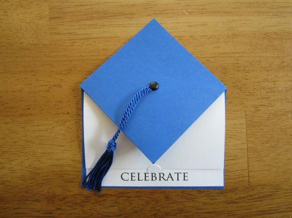 Sample piece of cardstock for Graduation Cap Favor