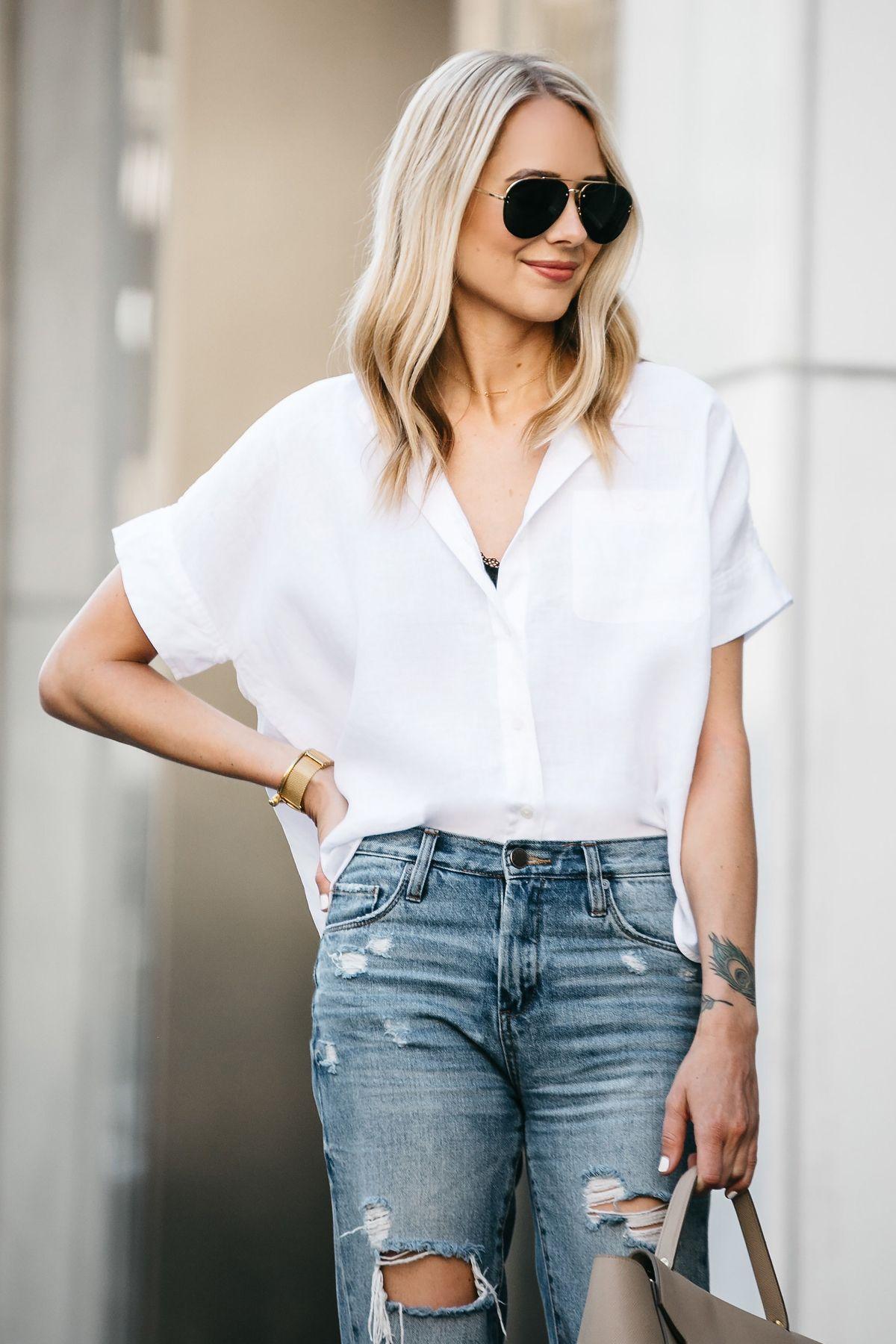 29+ Short sleeve denim shirt womens ideas information