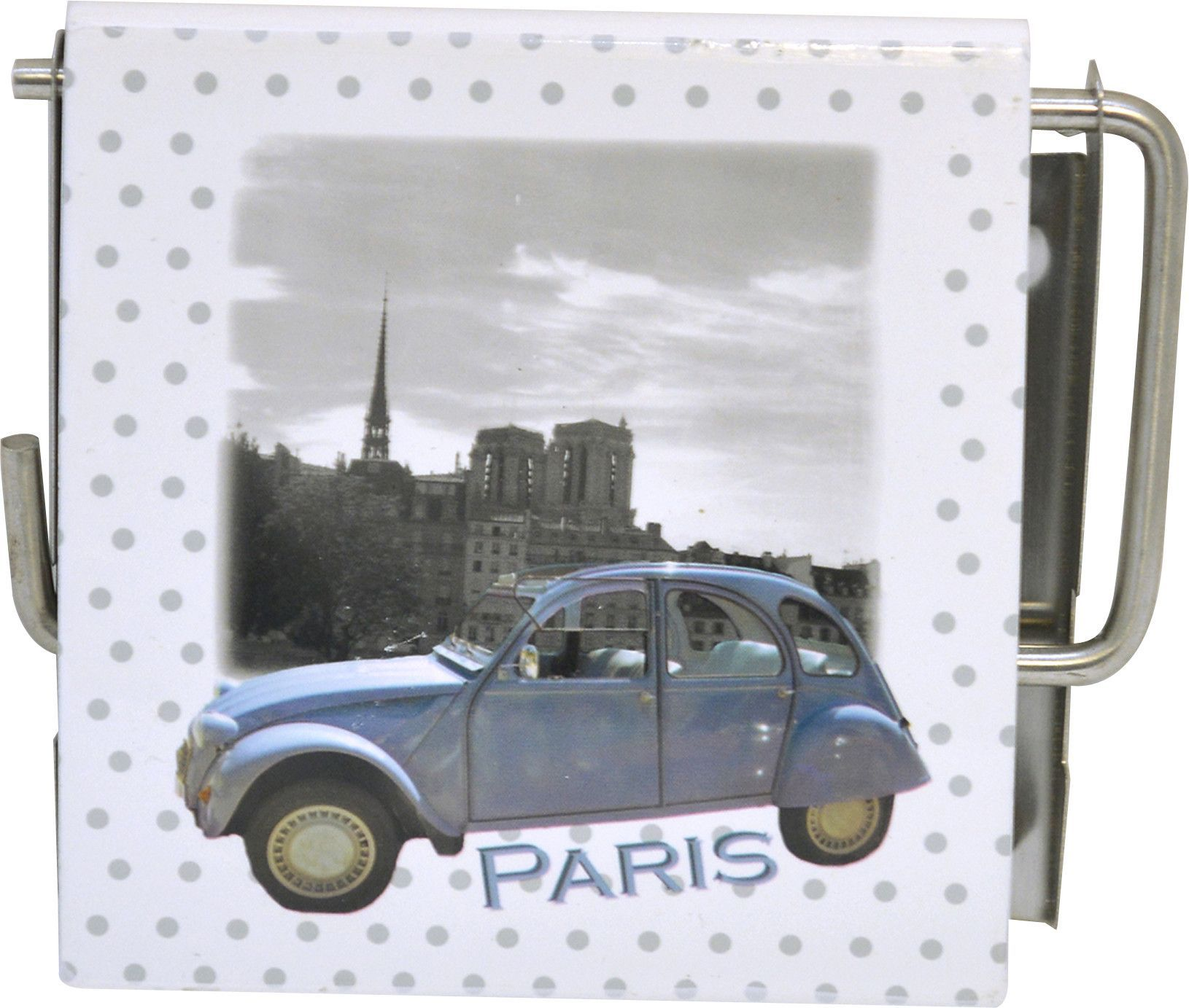 Paris Romance Wall Mounted Printed Toilet Tissue Roll Holder