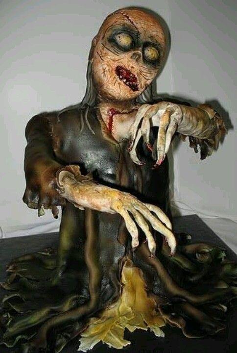 Hooo... Zombie Cake :D