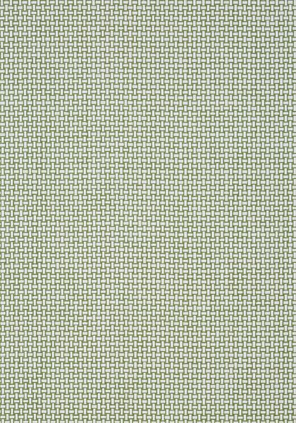 Thibaut Wallpaper Baker Weave in Green (T2939) from the