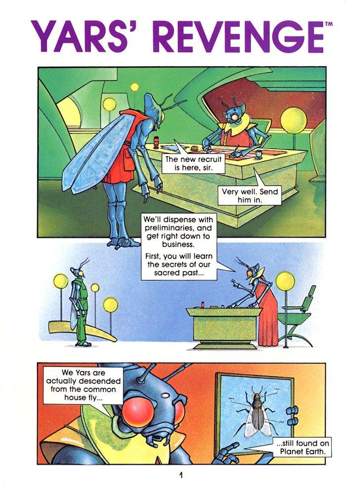 Image result for yars revenge comic