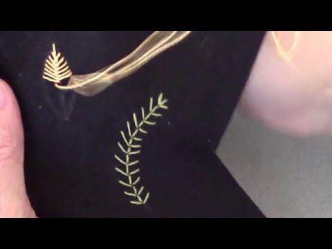 Fishbone Stitch - YouTube