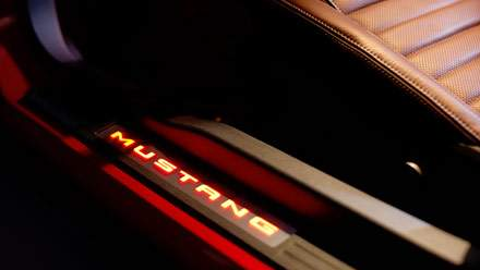 Ambient lighting and mycolor available on the 2012 mustang lets you illuminate your car 39 s for 2012 mustang interior lights