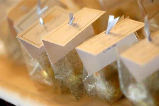 Lindt Truffle Wedding Favor Ideas