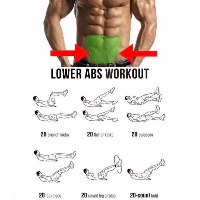 Lower Abs Workout! Best Sixpack Training For Low Ab Part