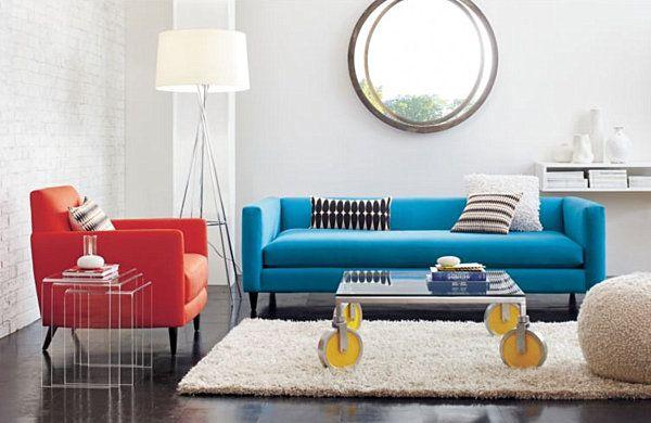 Midcentury Style sofa style: 20 chic seating ideas | mid century, mid century