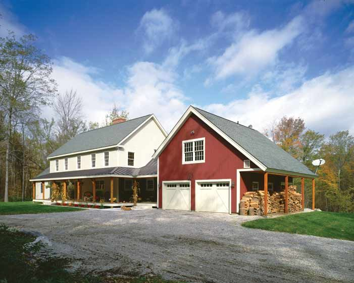 Modern One Story Farmhouse Built In Vermont This