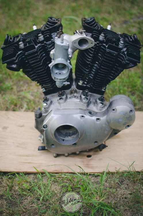 Divorced my transmission from my Ironhead today.... | Ride ...