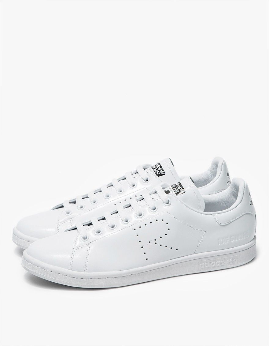 sale retailer 70004 1fa8d Raf Simons x Adidas Stan Smith Lace Up