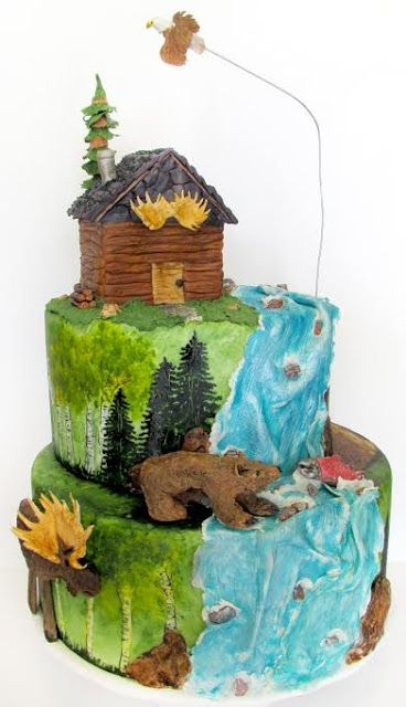 Parties With Cake!: Rustic Party Ideas