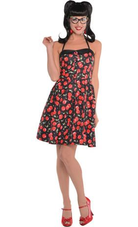 Create Your Own Womenu0027s Rockabilly Costume Accessories - Party City  sc 1 st  Pinterest & Create Your Own Womenu0027s Rockabilly Costume Accessories - Party City ...