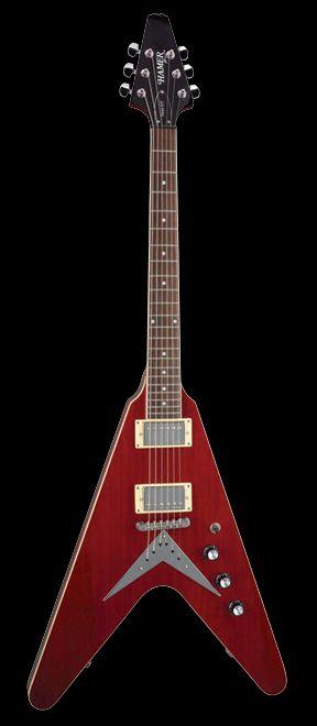 Hamer Vector | Guitars | Guitar, Unique guitars, Guitar pics