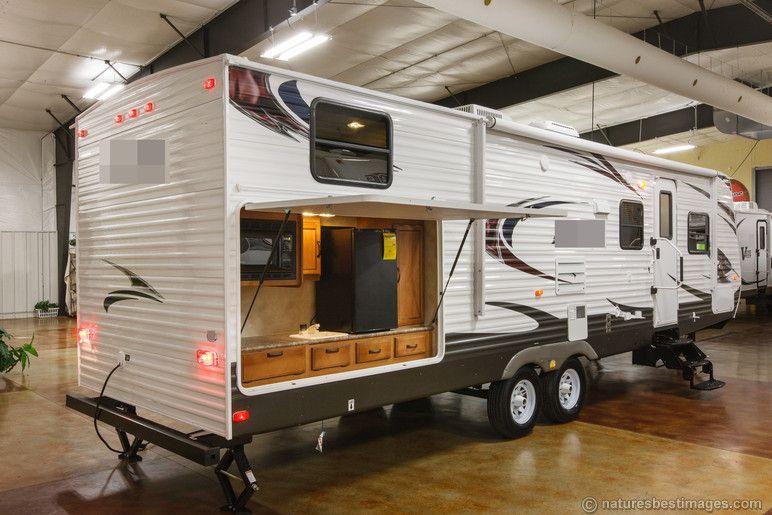 Delightful New 2014 30DBSS Slide Out Bunkhouse Travel Trailer Outdoor Kitchen Camper  Bunks In RVs U0026 Campers | EBay Motors