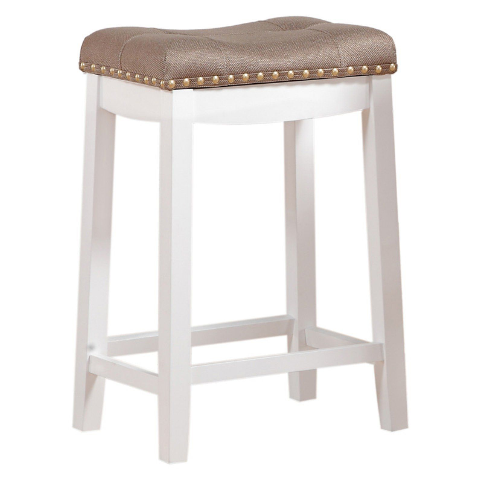 Angel Line Cambridge 24 In Padded Saddle Counter Stool With