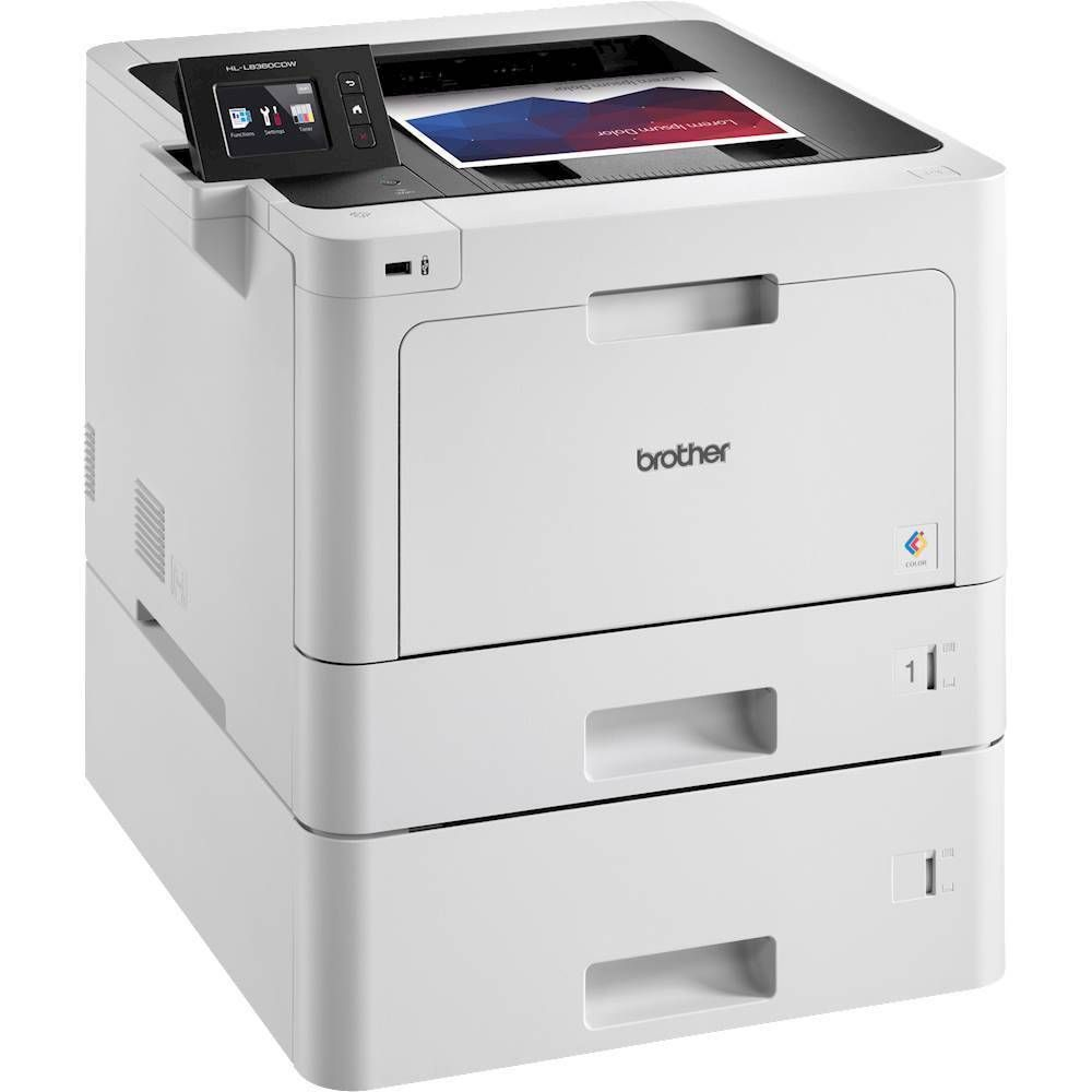 Brother HLL8360CDWT Wireless Color Laser Printer Gray