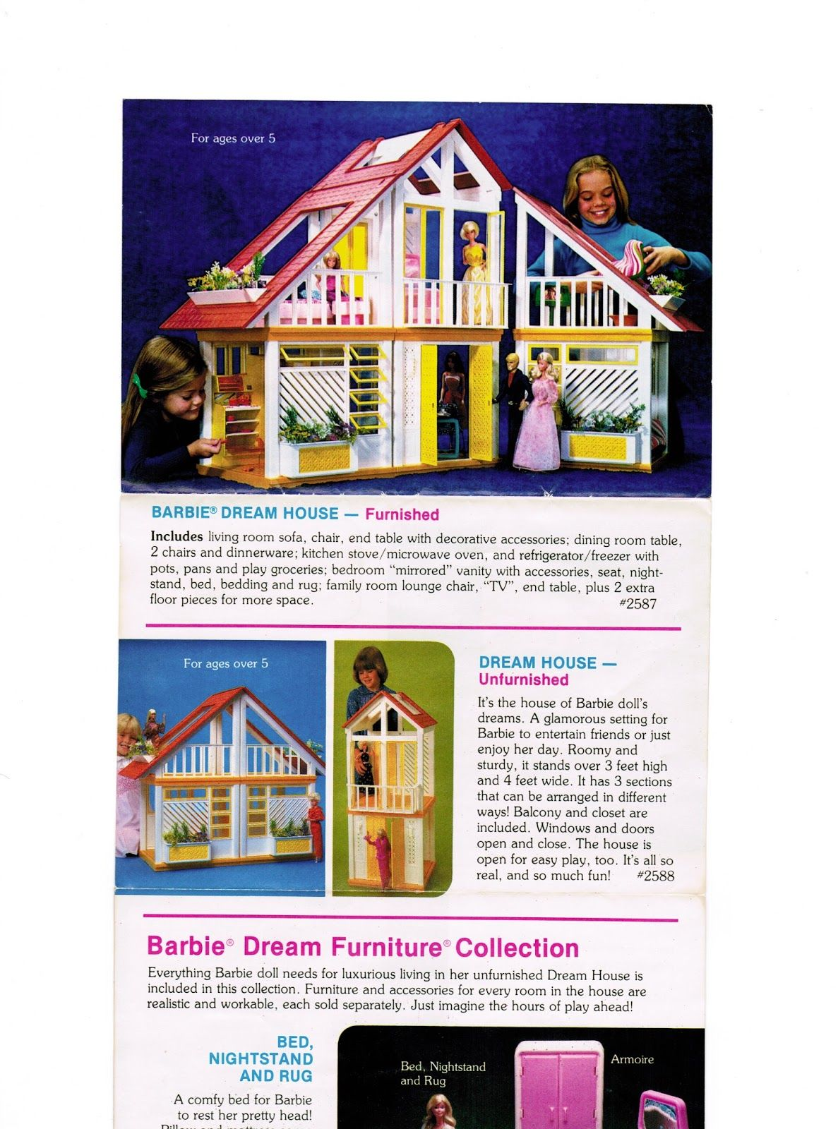 Year Catalog Page Section 1978 1983 Mattel A Frame Dream House Dreamhouse 1983 Barbie A Frame Dream Cottage Un Barbie Dream House Barbie Toy Catalogs