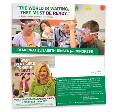 mailer1_cover Design Pinterest Political logos, Direct mail - political brochure