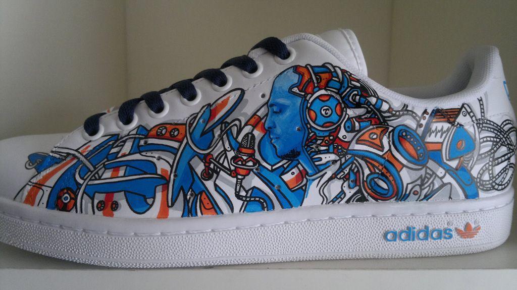 Adidas Stan smith – Topaz   Noise aka N°15   Paint   Graphic