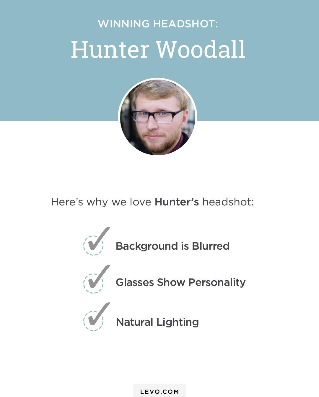 The anatomy of a great profile picture professional