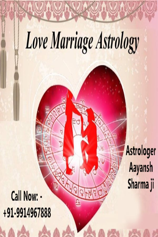 Love Marriage Astrology in 2020 | Marriage astrology, Love