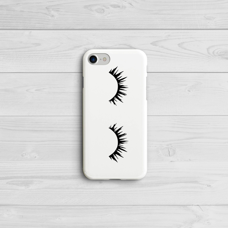 1cfa036152 Eyelashes iPhone Case, iPhone 6 7 8 X, Galaxy S6 S7 S8 Plus, Fashion Phone  Case, Eye Lash Case, Mascara Eyes, Samsung Galaxy, Sleepy Eyes by IrieCases  on ...