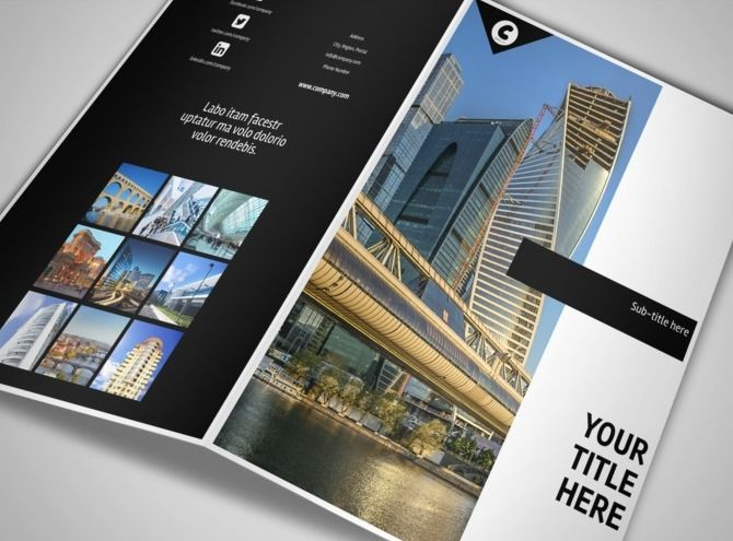 architect brochure - Pesquisa Google Layout paper Pinterest - architecture brochure template