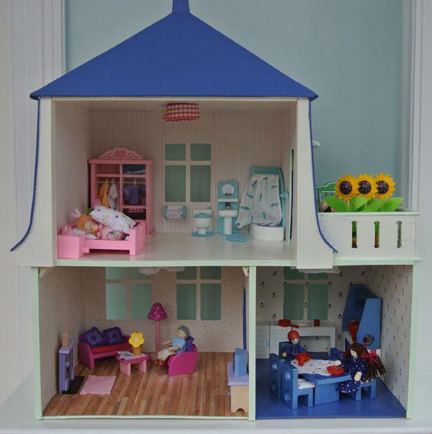 Happy Home-chen: das Puppenhaus ist fertig renoviert! | Renovieren ...