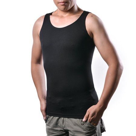 19e6332ae2 Men s Body Shaper For Men Slimming Vest Tummy Waist Lose Weight Compression Shirt  Size  XL