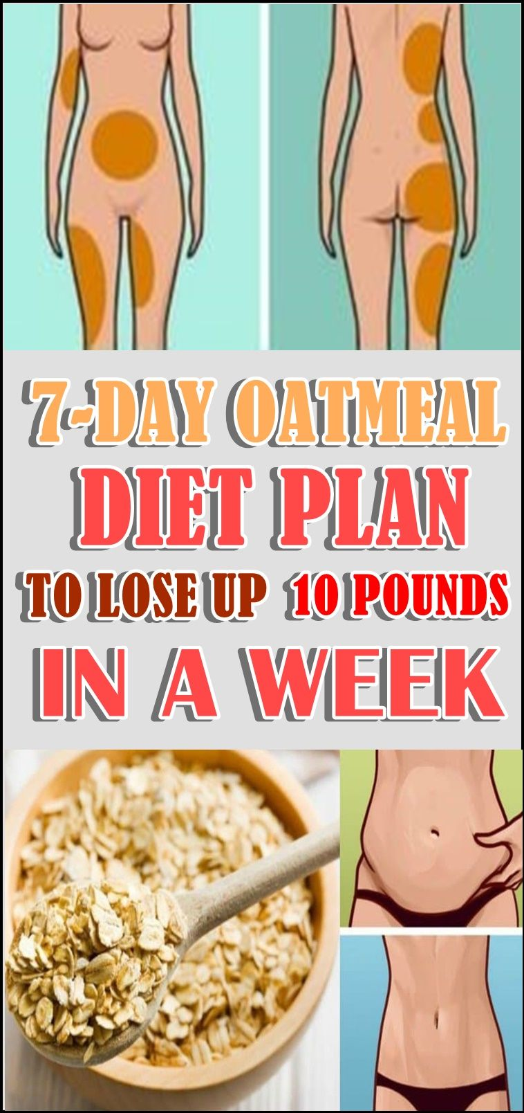 7-DAY OATMEAL DIET PLAN TO LOSE UP 10 POUNDS IN A WEEK ...