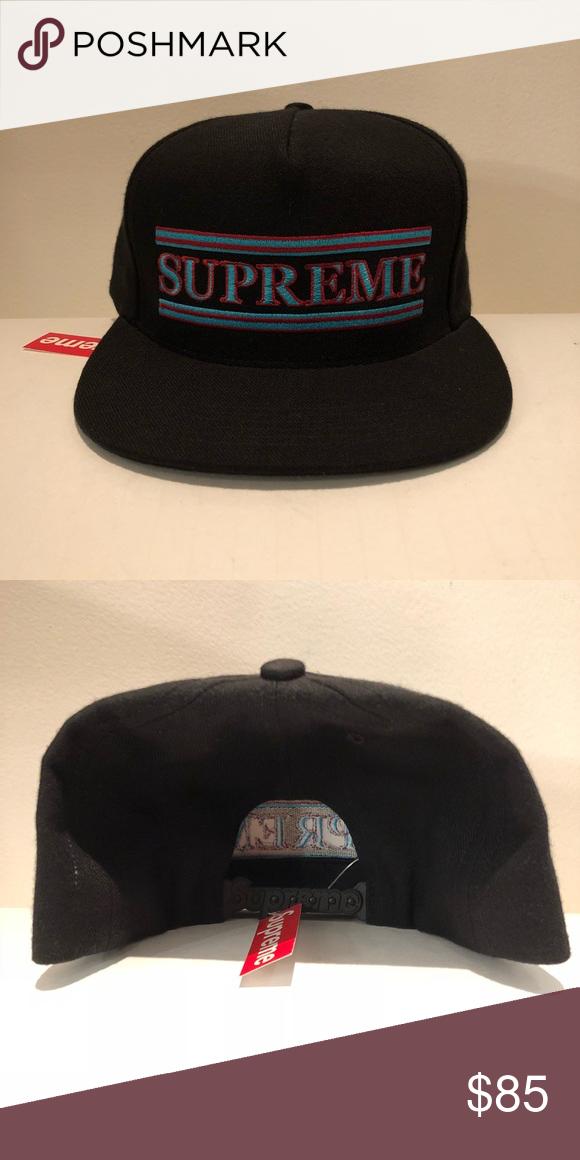 335e2e7154b NWT SUPREME STRIPED 5 PANEL HAT BRAND NEW SUPREME STRIPED 5PANEL HAT FW16 Supreme  Accessories Hats